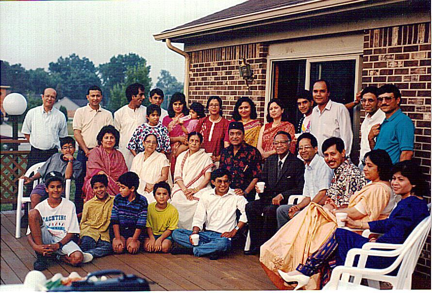 Detroit group with Bhupenda
